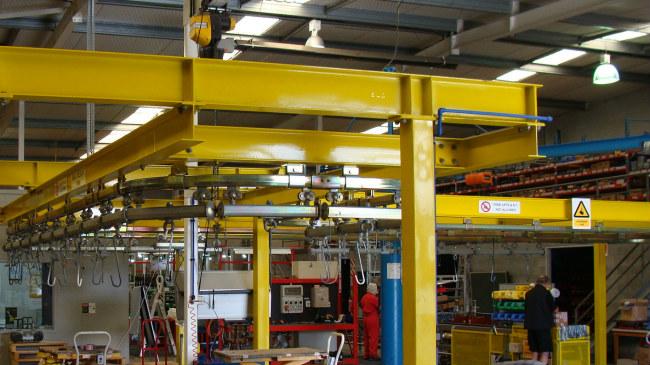 Monorail Conveyor Niko Innovative Conveyor Systems