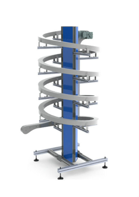 Spiral Conveyors Vertical Conveyors Belt Innovative