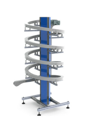 Spiral Conveyors Vertical Conveyors Belt Innovative